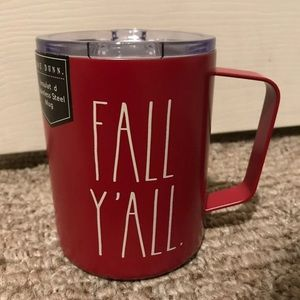 Rae Dunn fall y'all stainless steel mug